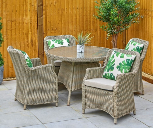 Outdoor Four Seater Sets