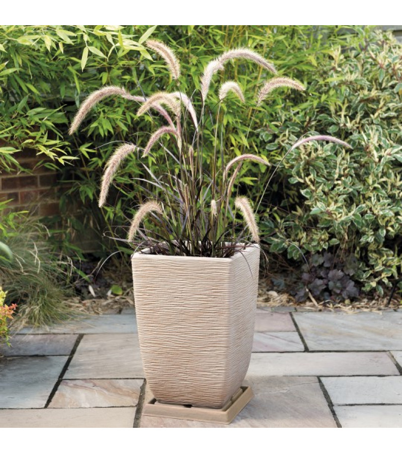 Cotswold Tall 33cm Light Sand Brown Planter
