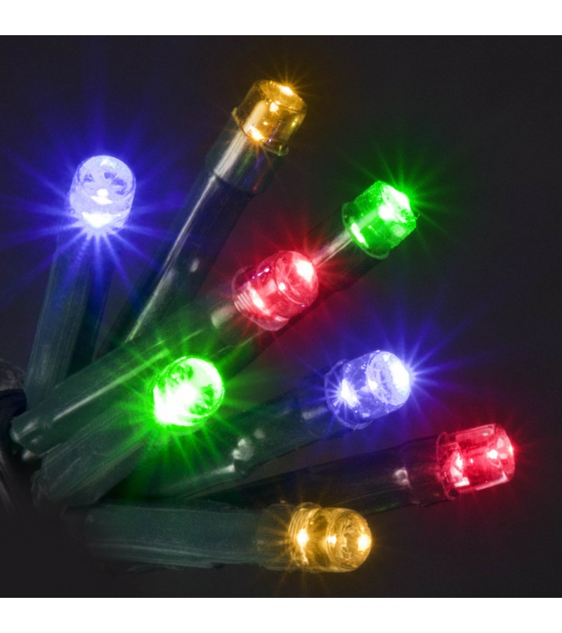 80 LED's Multi Colour