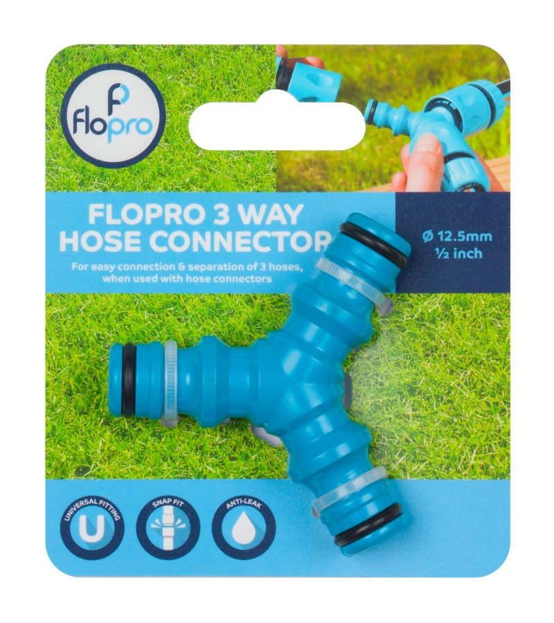Flopro 3 Way Hose Connector
