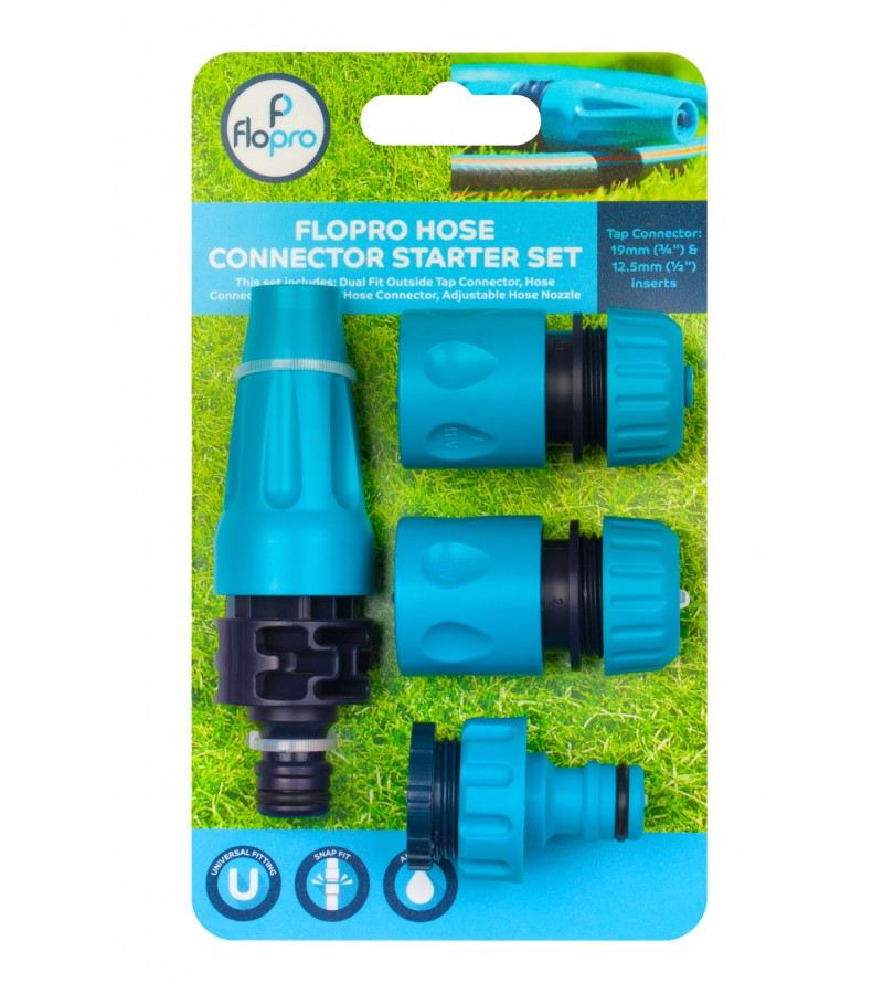 Hose Connector Starter Set