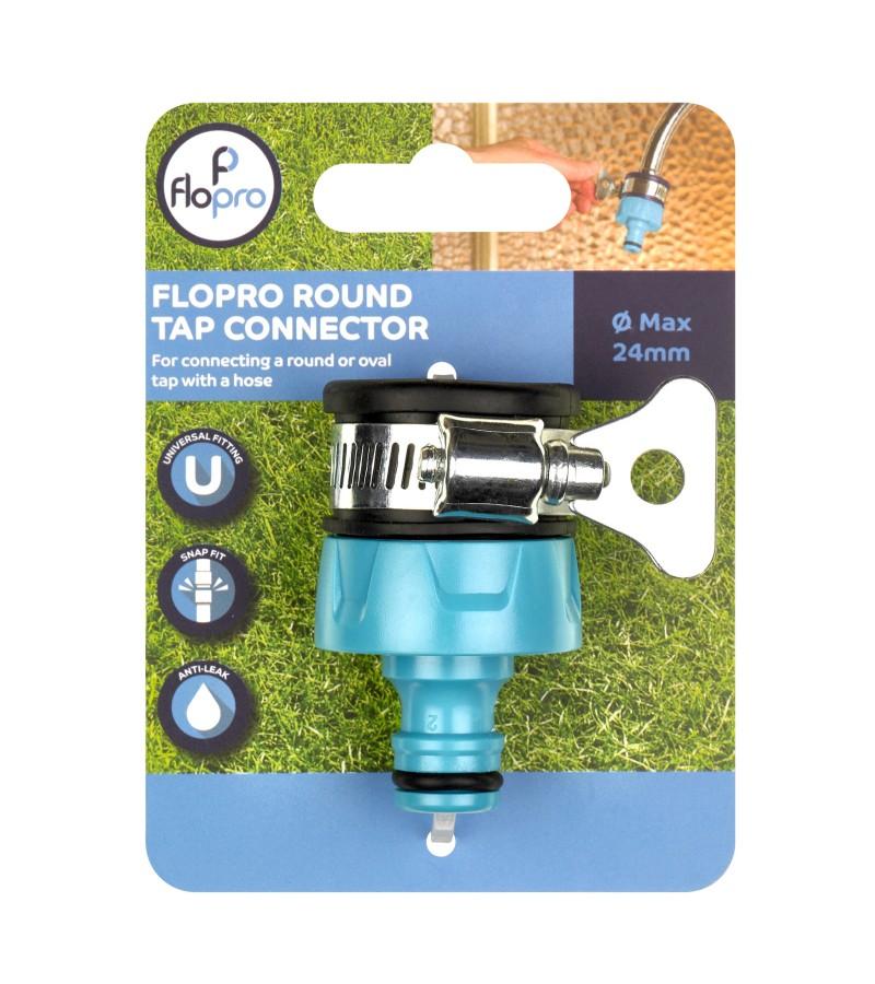 Flopro Round Tap Connector