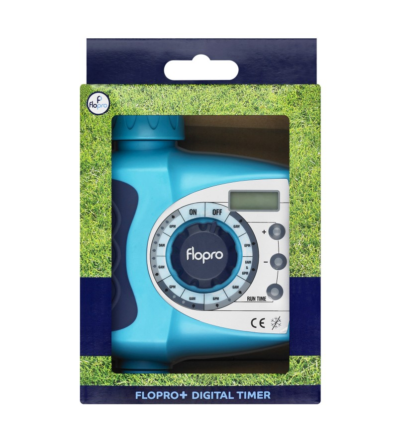 Flopro Digital Timer With Integral Clock - Plus Range