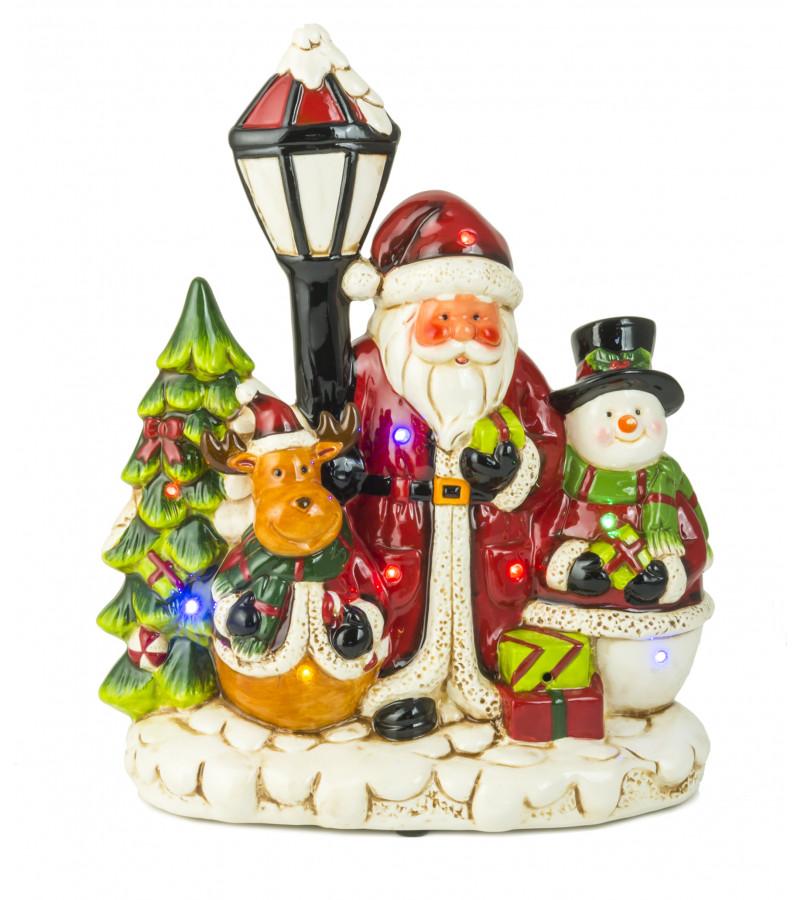 Ceramic Christmas Scene