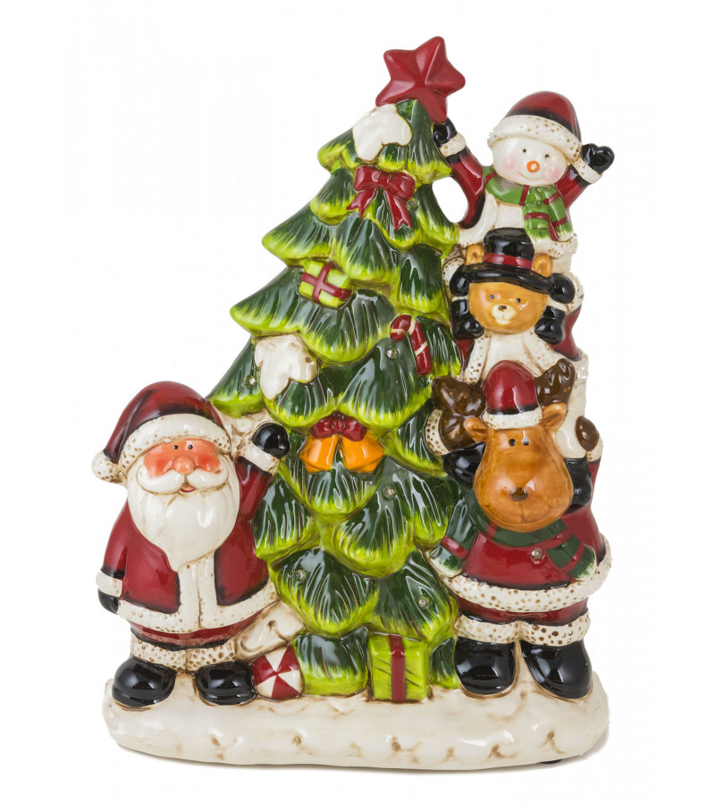 Musical Ceramic Christmas Tree
