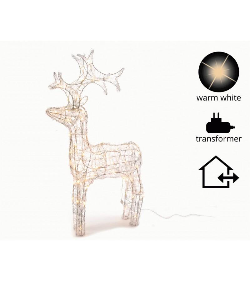 Acrylic Reindeer 120cm