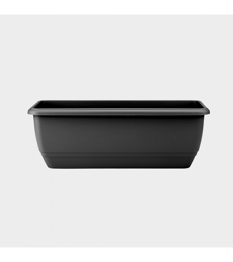 Stewart Black 70cm Balconnière Trough