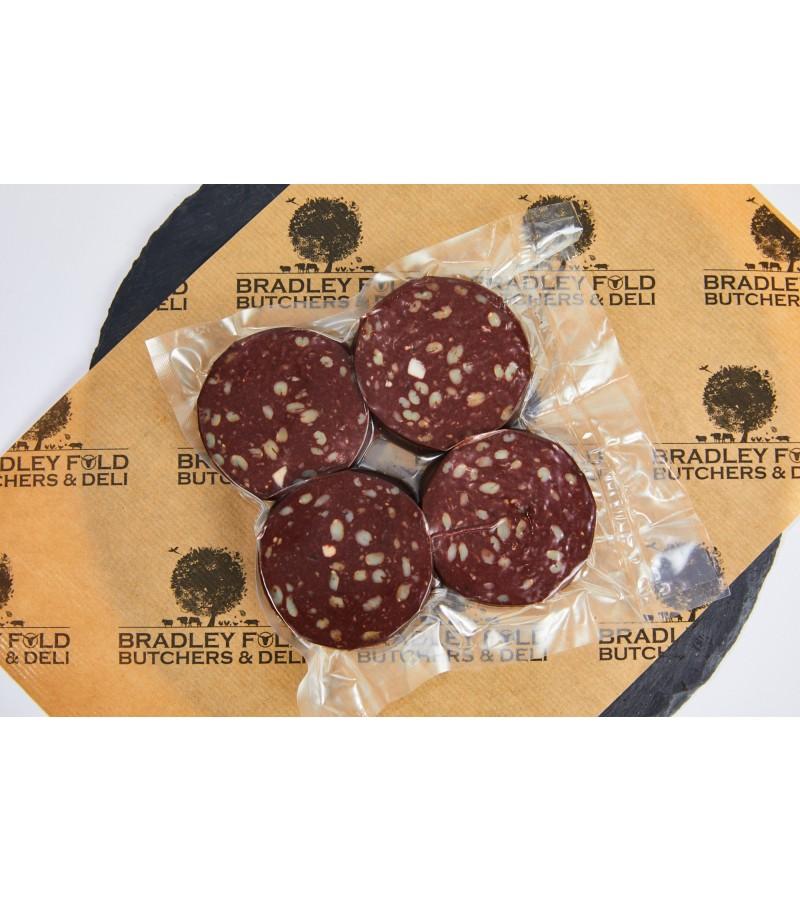 Slices of Bury Black Pudding x 4