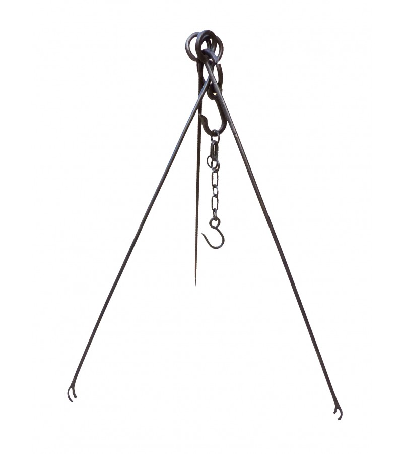 Kadai Cooking Tripod and Chain to fit 60cm Firebowl