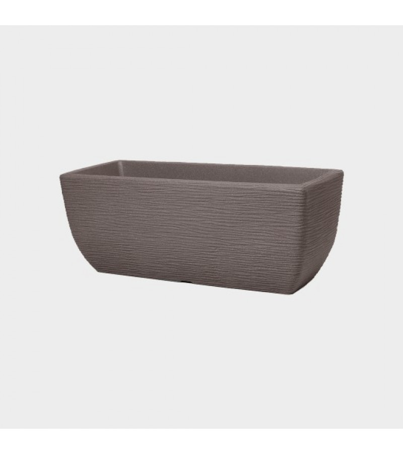 Cotswold 60cm Dark Brown Trough Planter