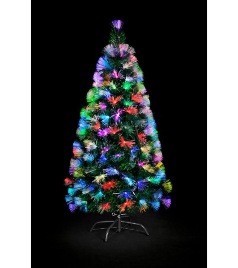 Fibre Optic Colour Burst Tree - 120cm