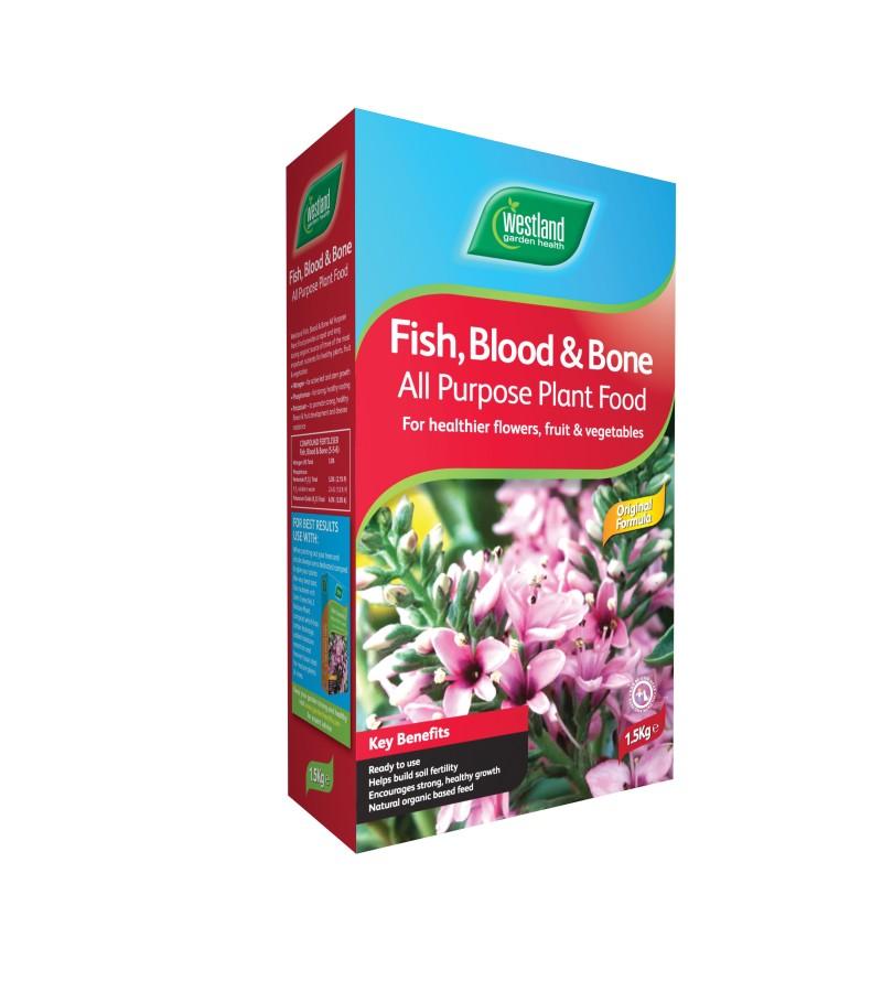 Fish, Blood and Bone All Purpose Plant Food - 1.5kg Granules