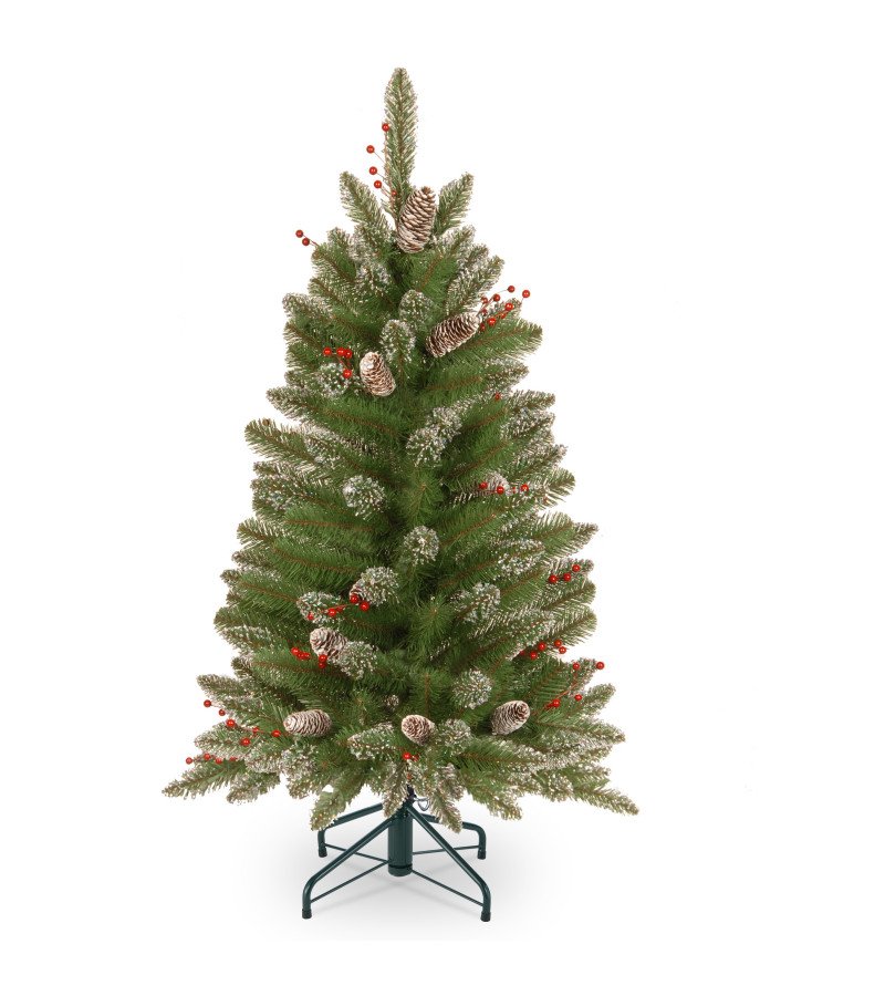 Glittery Mountain Spruce Tree - 4ft