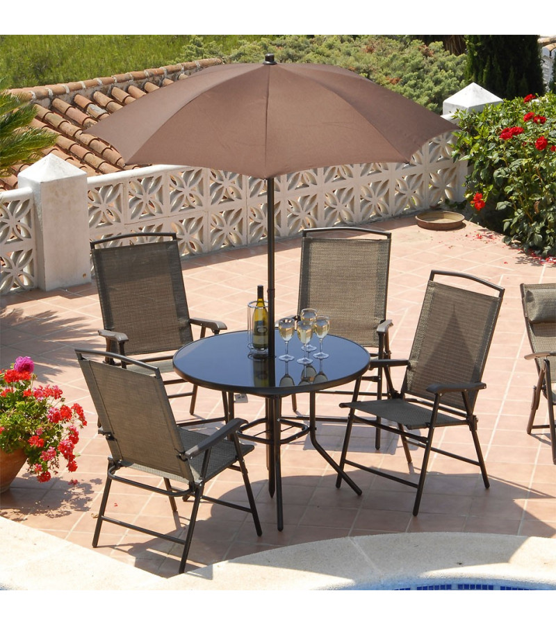 Suntime Havana 4 Seater Dining Set