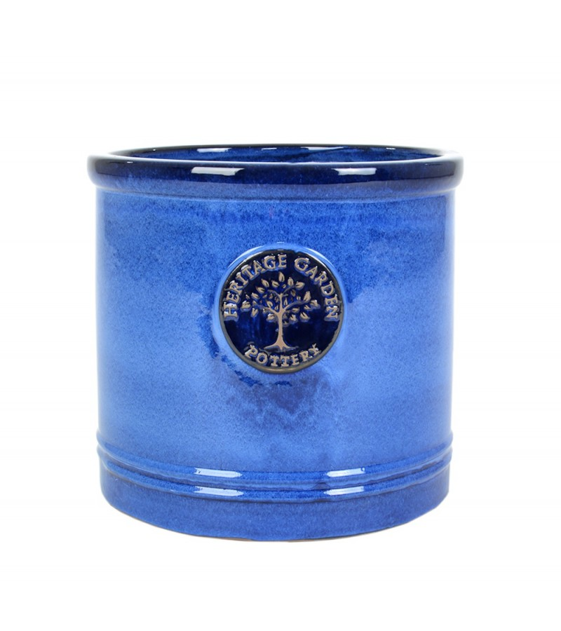 Heritage No.3 Cylinder Pot Blue