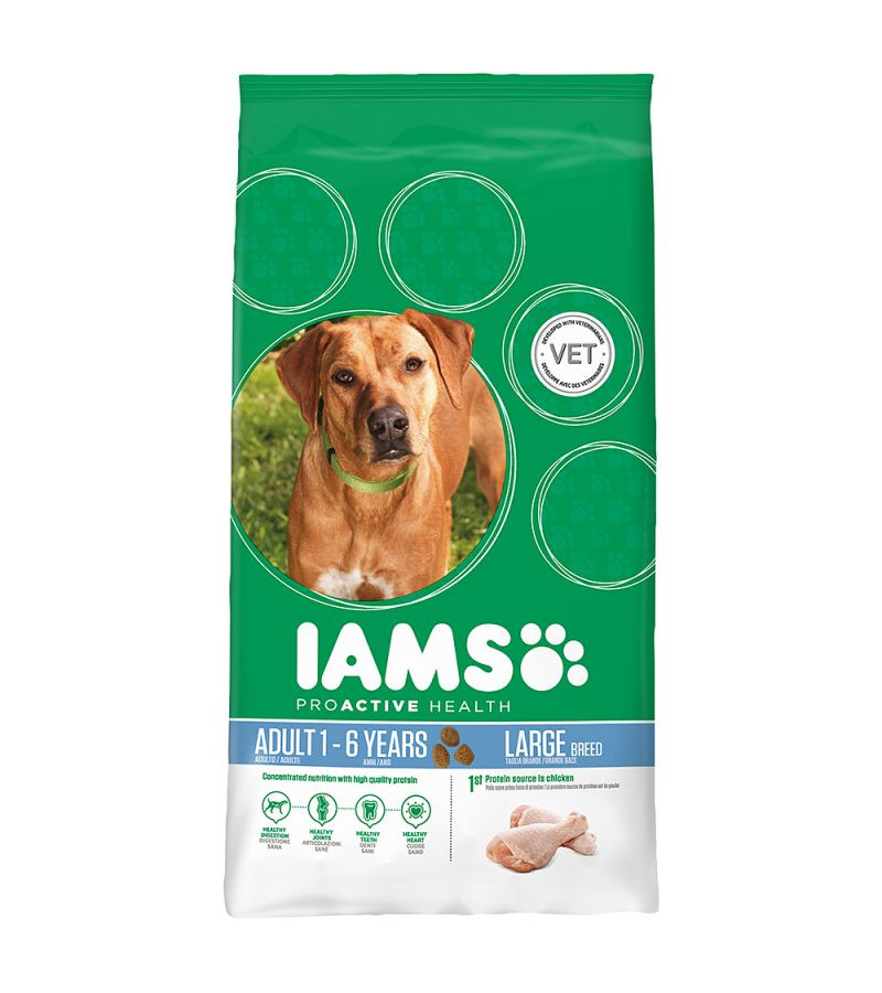 Iams Proactive Health Adult (Large Breed) Dry Dog Food - 12Kg