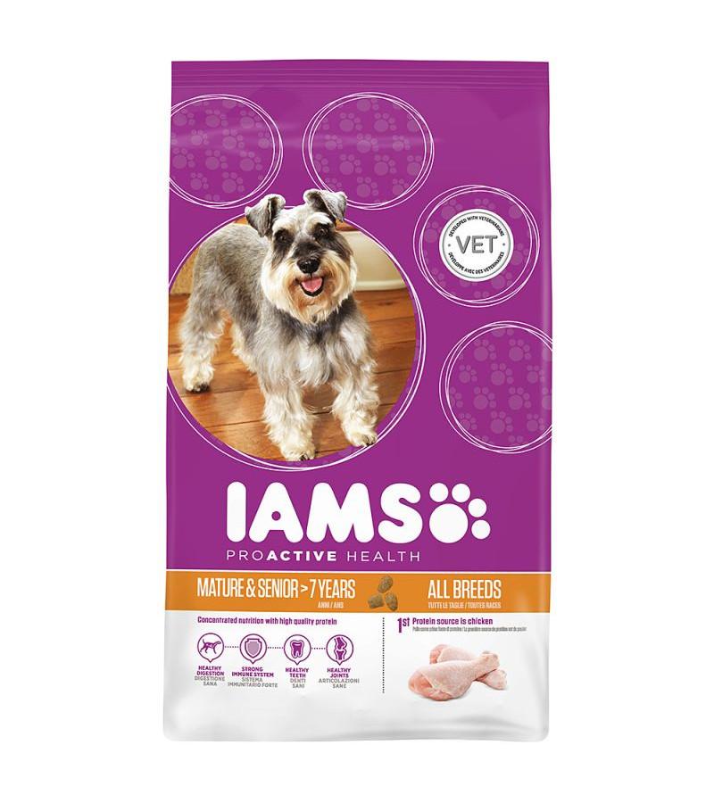 Iams Proactive Health Mature & Senior Dry Food - 12Kg