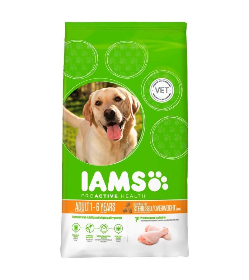 Iams Proactive Health Light (sterilised ) Dry Food - 12Kg