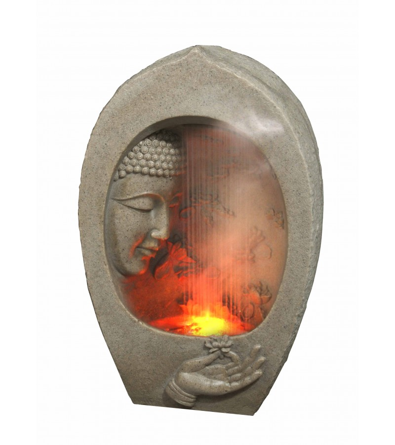 Large Buddha Rain Effect Water Feature
