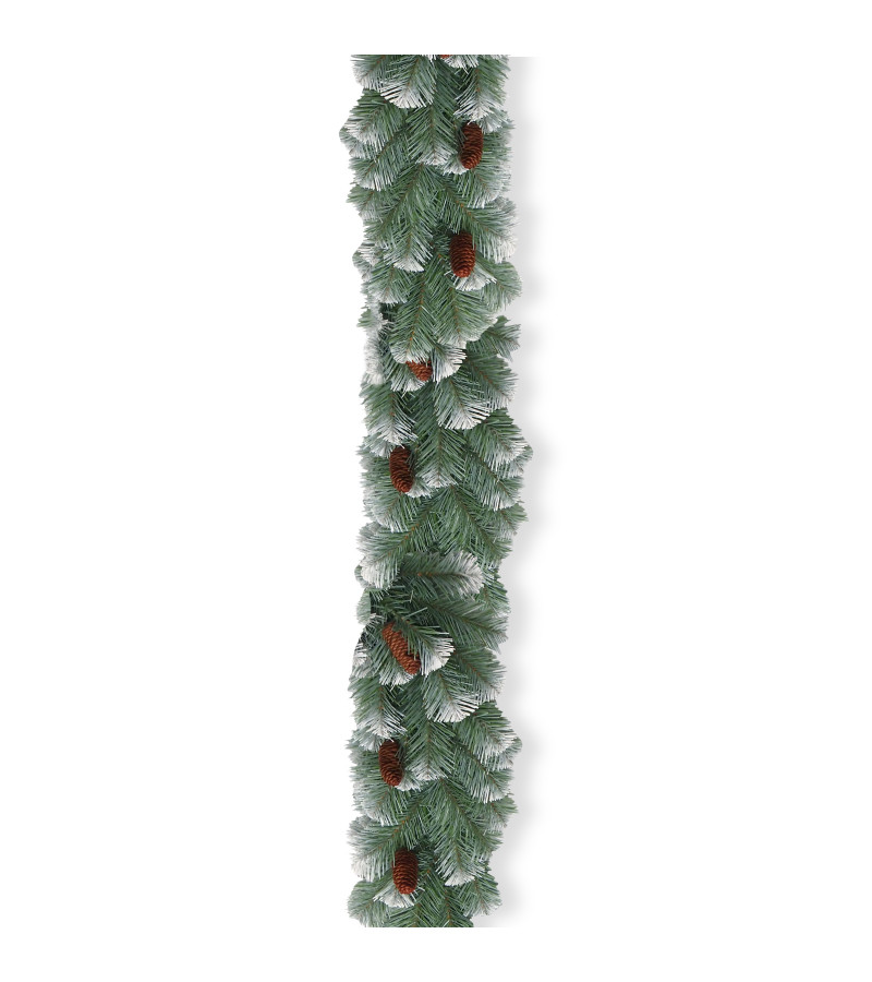Lakeland Spruce Garland - 9ft