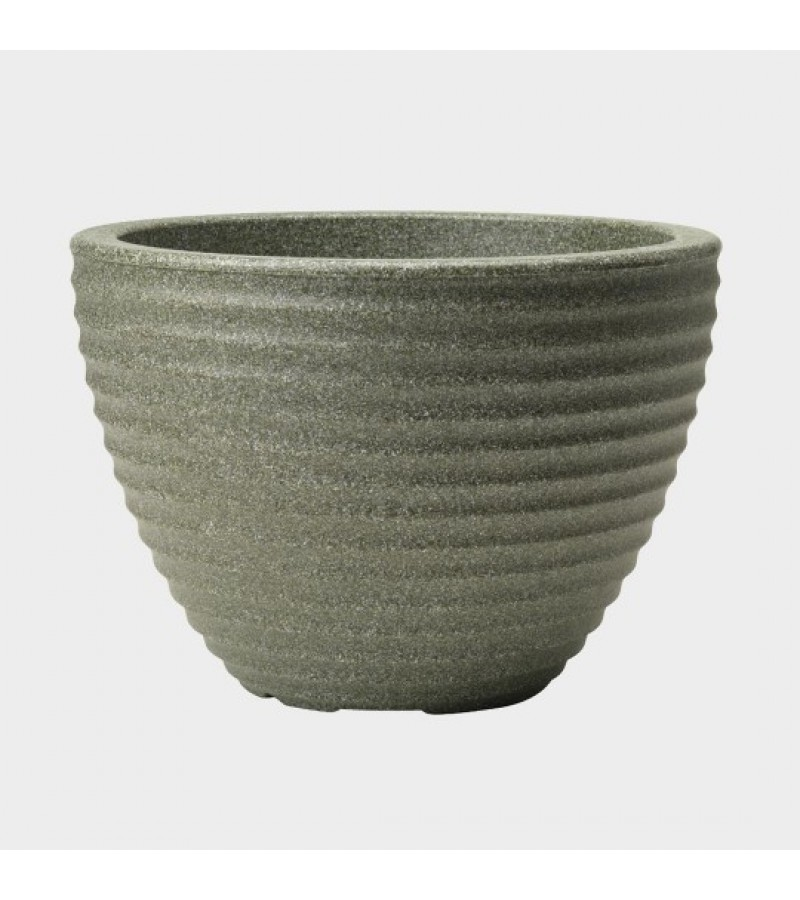 Stewart Marble Green Low Honey Pot Planter (49cm)
