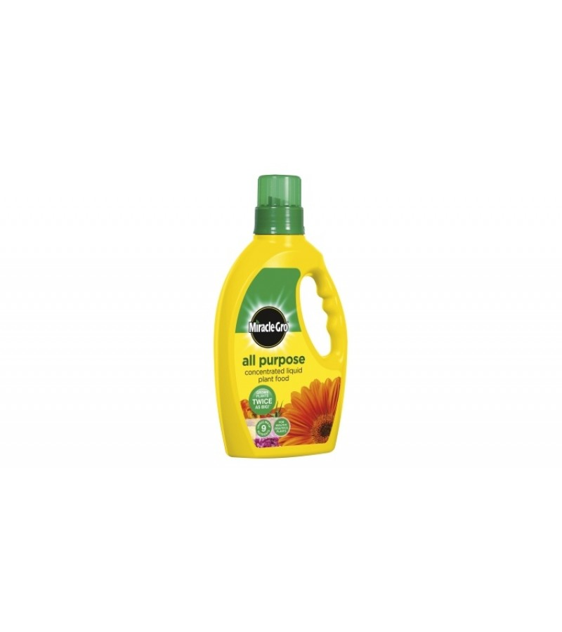 Miracle-Gro All Purpose Concentrated Liquid Plant Food - 1L Bottle