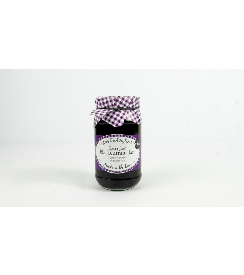Mrs Darlington Jam, Extra Jam - Blackcurrant Jam
