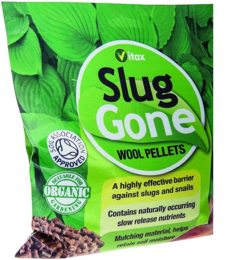 Slug Gone Wool Pellets - 1 Litre