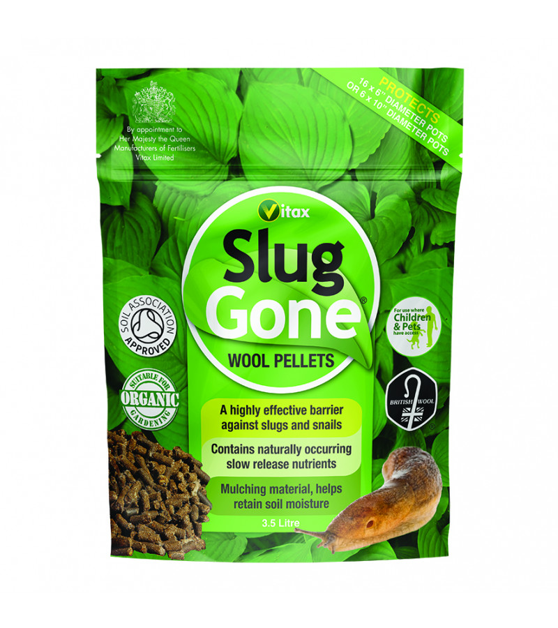 Slug Gone Wool Pellets - 3.5 Litres