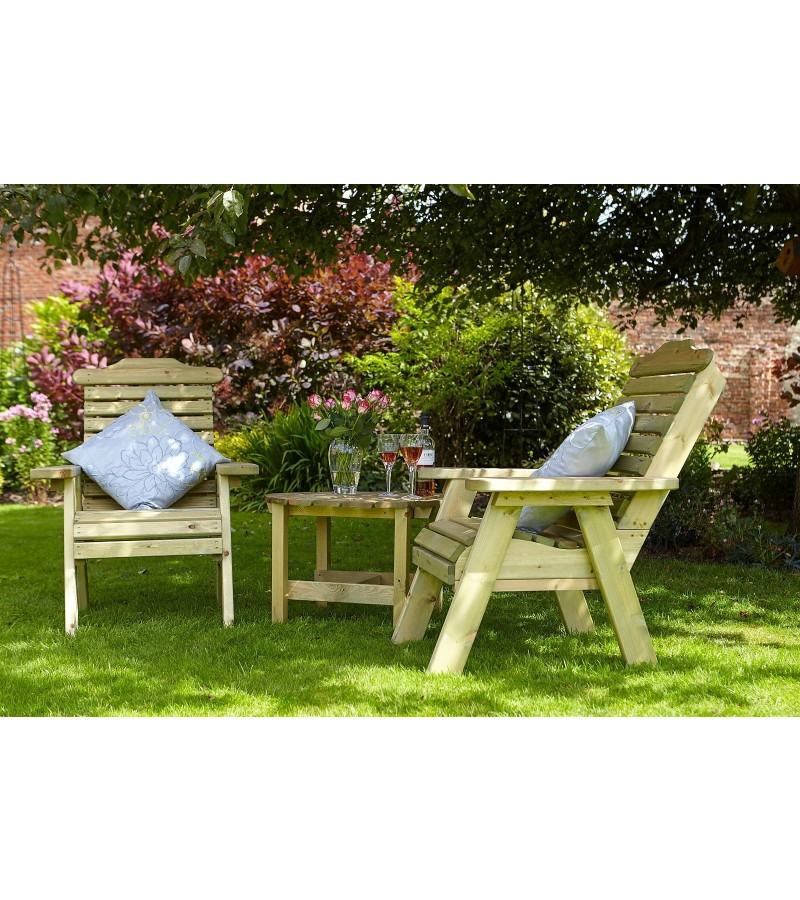Outdoor Tom Chambers Masham Companion Seat with Table