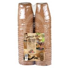 """Grow It - 48 Peat Free Fibre Pots (3"""")"""