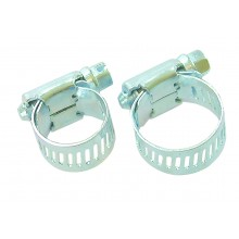 Hose Clips (Jubilee Clips) x2 medium