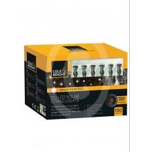Cole & Bright 150 LED Solar String Lights