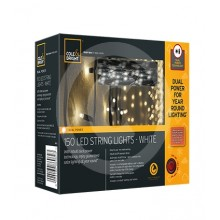 Cole & Bright 150 LED Dual Power String Lights