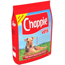 Chappie Complete Dry Dog Food - Beef & Wholegrain 15kg
