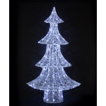 Spun Acrylic Tree with 160 LEDS - 1.5M