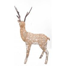 Fabric Standing Reindeer 132cm