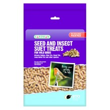 Seed and Insect Suet Treats 1.1kg Bag