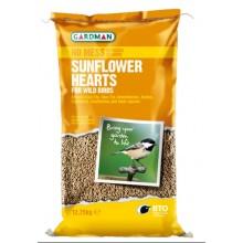 Gardman Sunflower Hearts 12.75kg Bag