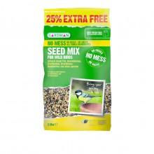 Gardman Seed Mix - No Mess - 2.5kg Bag