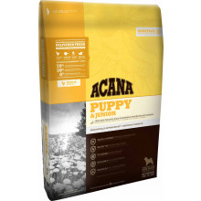 Acana Puppy & Junior Dry Food (Chicken and Flounder) - 11.4kg