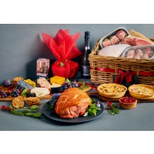 Luxury Christmas Hamper with 4kg turkey fillet