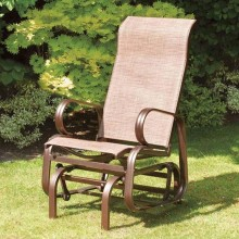 SunTime Havana Single Seat Glider, in Bronze