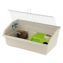 Ferplast Cavie 80 Deluxe Guinea pig cage, with Accessories