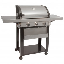 LeisureGrow Dante 3 Burner Gas BBQ