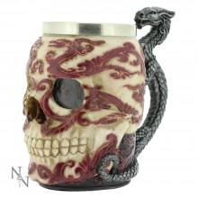 Eastern inspired Dragon Skull Tankard