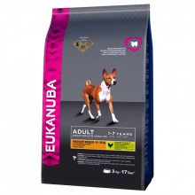 Eukanuba Adult (Medium Breed) Dry Food - 12Kg