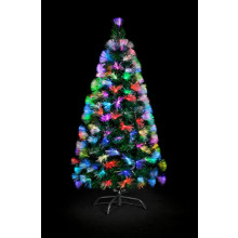 Fibre Optic Colour Burst Tree - 120cm