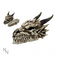 Fierce Dragon Skull Box