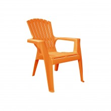 Rondeau Child's Small Garden Chair - Orange